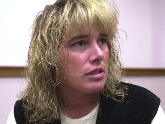 Christi-Ann Ciccone gives her thoughts on July 22, 2003, on the guilty plea from David P. Sweat, who was charged in the murder of Sheriff Deputy Kevin J. Tarsia.