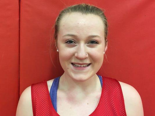 2014-15 Hilton girls basketball Cameron Graupman