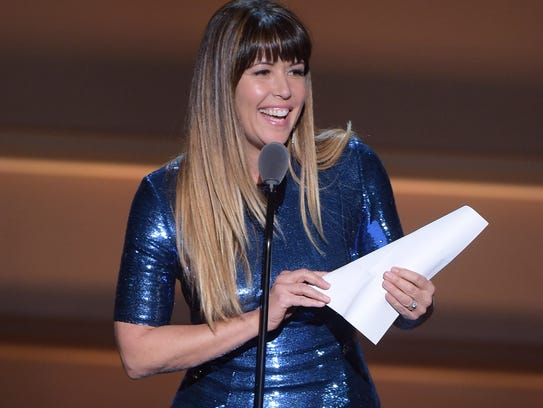 Patty Jenkins takes the stage.