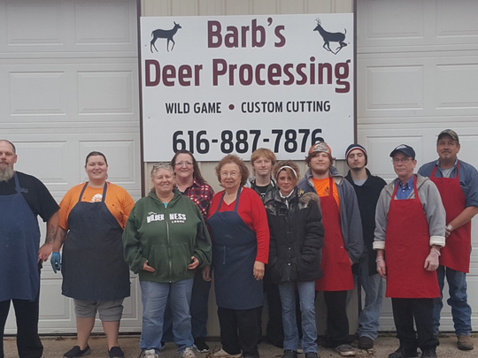 Barb's Deer Processing in Comstock Park is a family business. Their staff is happy to help those in need through Michigan Sportsmen Against Hunger.