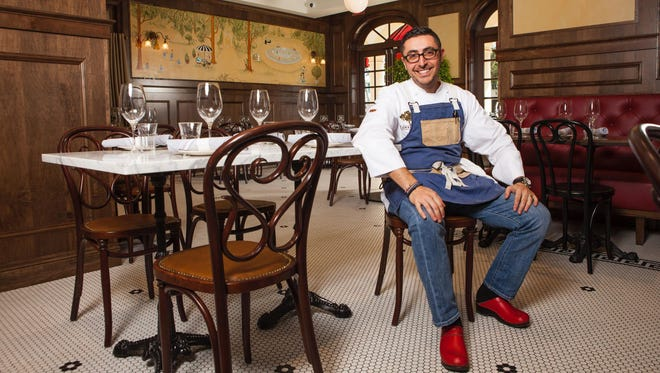 Chef Vincenzo Betulia of Osteria Tulia, Bar Tulia and The French in downtown Naples.