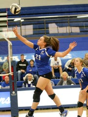 Chillicothe's Sophie Fulkerson, who was an outstanding volleyball player for the Cavaliers, will be a part of the Ohio State University rowing team.