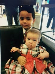 6-month-old Kahmila Ramirez and 5-year-old Luis Ramirez