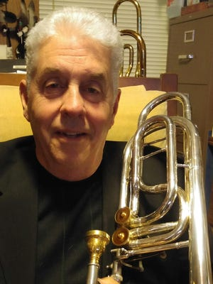 Ralph Pressler, BSU-trained bass trombonist with a long, successful performance career in many Las Vegas show bands.