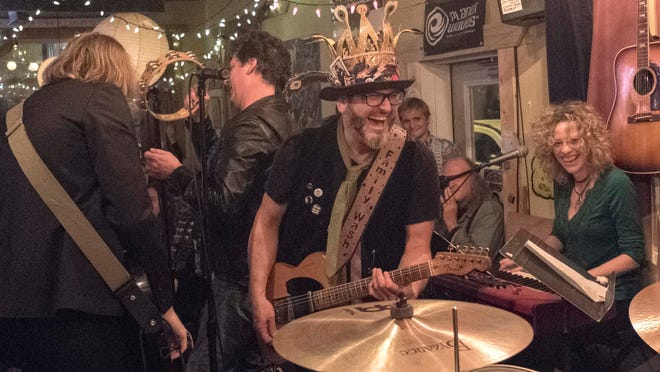 Jamie Rubin plays with the Sons of Zevon on Feb. 21, the last night at Family Wash. A new location on Main Street in East Nashville — roughly three times the size of the original location — will open in late spring or early summer.
