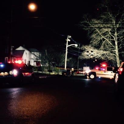 Neptune City shooting scene at Seventh Avenue.