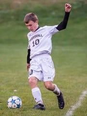 Marshall's Cody Clapper (10).