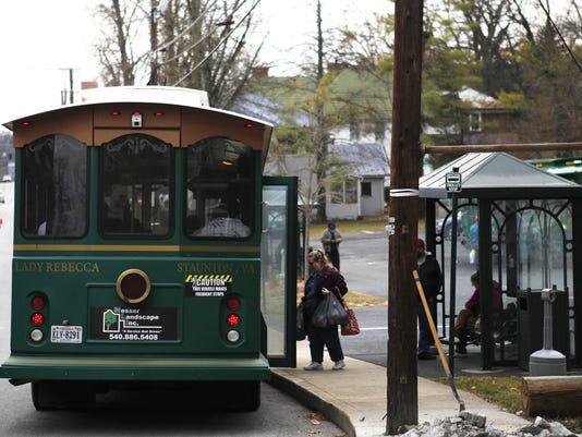 STA silver trolley