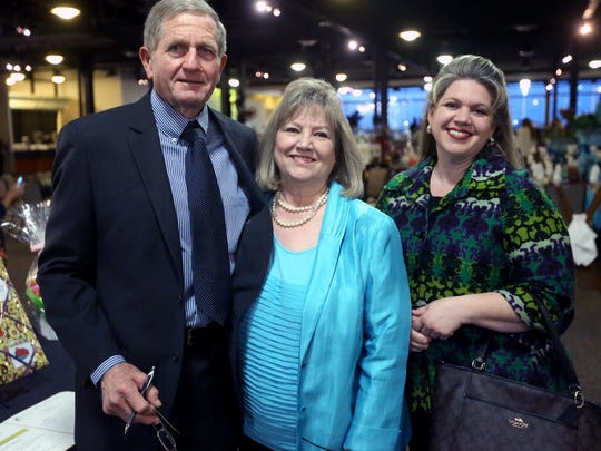 "Roni Unterbrink (from left), Debbie Unterbrink and Melissa Thomas attended the Fourth Annual ""Spirit Center Celebrity Dinner"" on Friday, Jan. 15, 2016, at the Congressman Solomon P. Ortiz International Center in Corpus Christi."