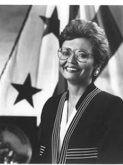 Sharon Pratt became mayor of Washington, D.C., on Jan.