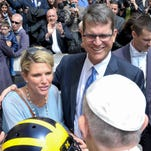 From the NICU to Vatican City, Sarah Harbaugh has appreciated Mother's Day for months
