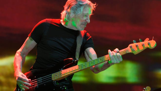 Roger Waters performs at Bridgestone Arena in Nashville on Sunday, August 13, 2017.