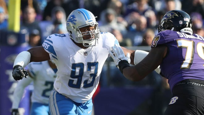 Lions defensive lineman Dwight Freeney is in his 16th season in the NFL. He has not decided whether to return for a 17th.