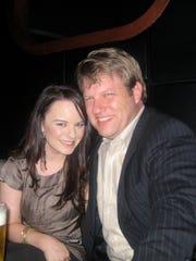 Jenna von Oy and her husband, salesman Brad Bratcher,