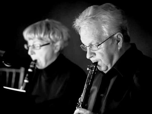 America's Hometown Band clarinets