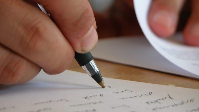 Writing workshop.