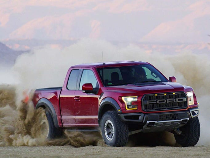 The Ford Raptor tears up the 50-mile Borrego Desert