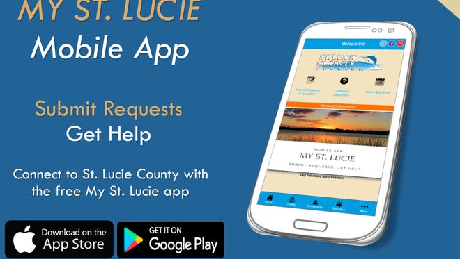 Need to communicate with St. Lucie County? Now there's an app for that.