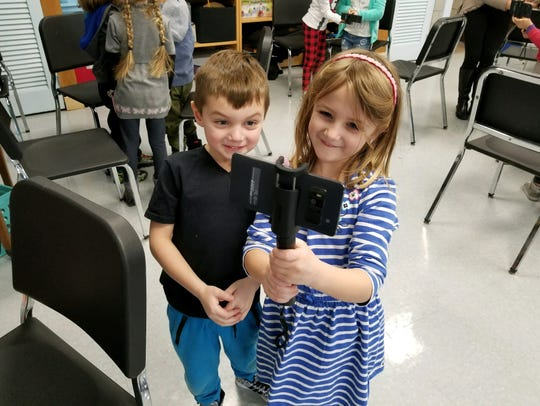 Dominic and Samantha were among the students at Lincoln