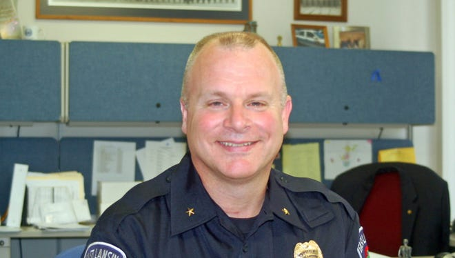 Former East Lansing Police Chief Tom Wibert, in a 2010 file photo, heads the New Braunfels, Texas police department. New Braunfels is home to the man police say opened fire on churchgoers in Sutherland Spring Texas, killing 26 and injuring 20 more.