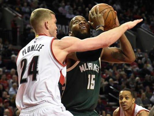 NBA: Milwaukee Bucks at Portland Trail Blazers