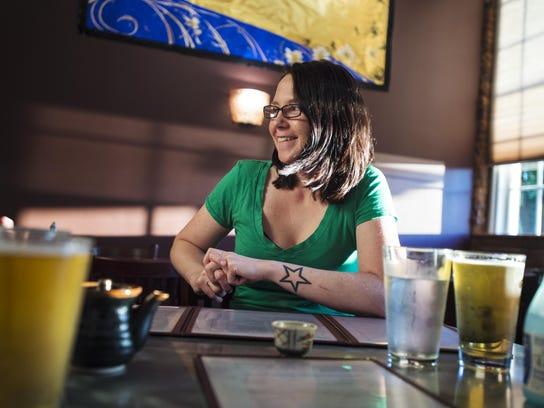 Abbie Sweeney, a head chef at Waterworks in Winooski,