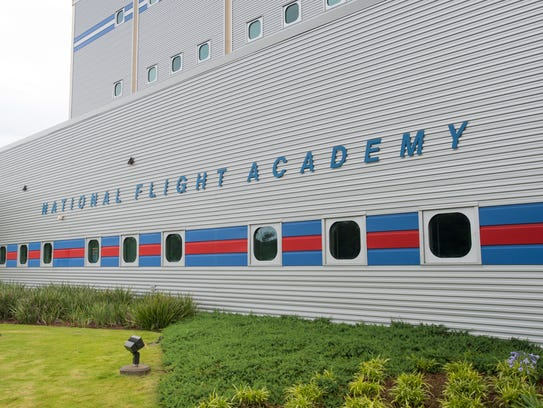 The National Flight Academy in Pensacola on Tuesday,