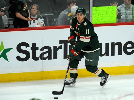 NHL: Florida Panthers at Minnesota Wild