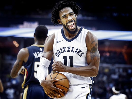 October 18, 2017 - Memphis Grizzlies guard Mike Conley