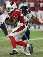 It's sounding like Kerwynn Williams, seen on Saturday against the Bears, will be the Cardinals' punt and kickoff returner.