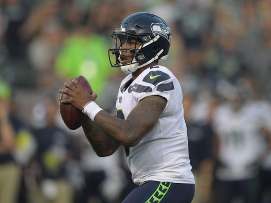 NFL: Seattle Seahawks at Oakland Raiders