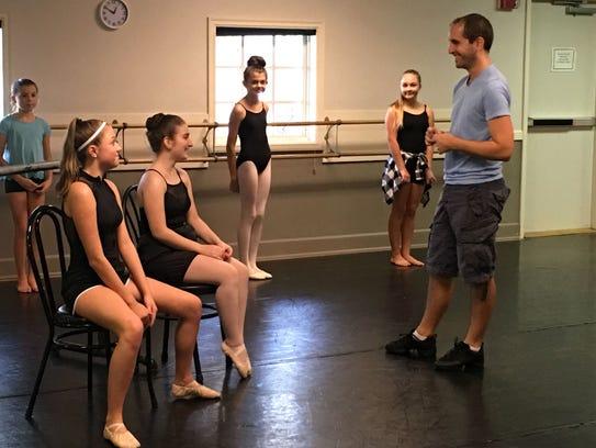 Ballet Vero Beach artistic director, Adam Schnell,