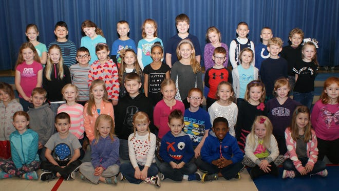 February 2016 students of the month at Yorktown's PVE.
