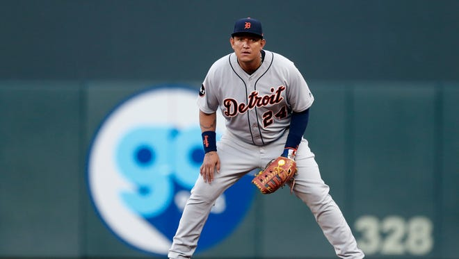 Tigers first baseman Miguel Cabrera left after the sixth inning Friday against the Twins with a right groin strain.