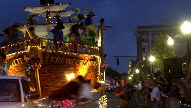 Fiesta Family Weekend kicks off tonight with the Pen Air Grand Fiesta Day Parade.