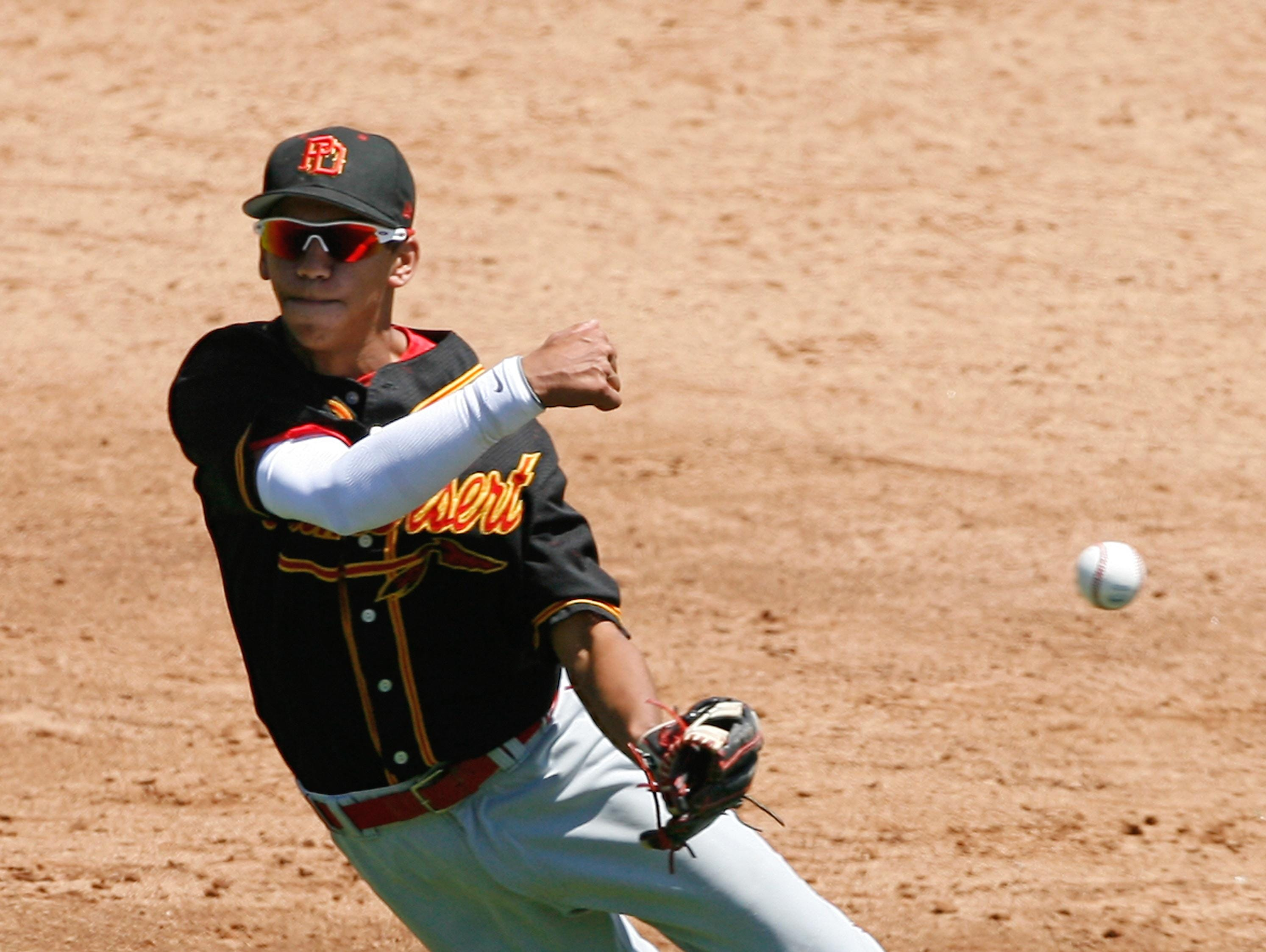 Scotty Burcham, who graduated from Palm Desert in 2011, was selected in the 25th round of the MLB draft by the Colorado Rockies.