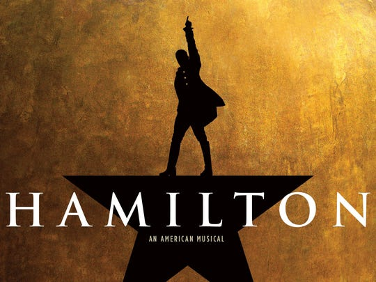 "The logo for ""Hamilton"""