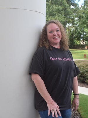 Sarah Jane Quick was diagnosed with breast cancer at age 35, five years younger than the age suggested for a baseline mammogram.