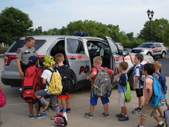 The Mason Police Department hosts a  safety summer