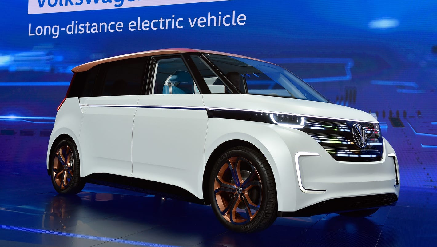 vw shows electric van  its vision of 2019