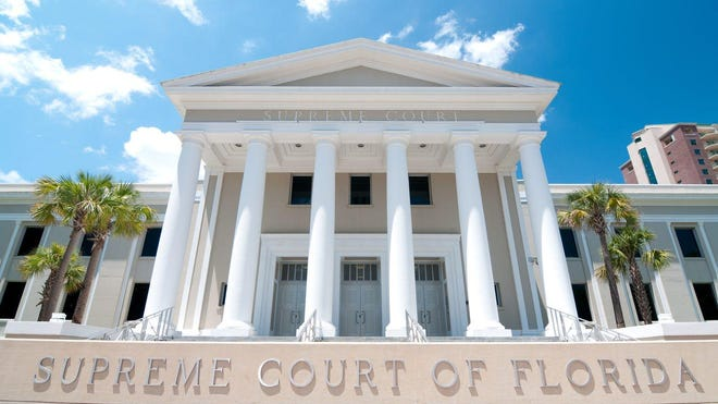 The exterior of the Florida Supreme Court in Tallahassee. Directorspence, Getty Images/Stock Photo