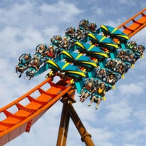 Thunderbird, America's first launched wing coaster