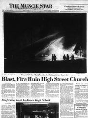 The blizzard of 1978 included a fire that destroyed