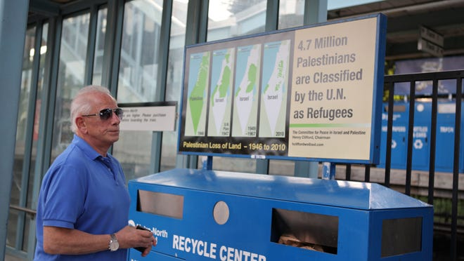The MTA is banning all political ads on its commuter trains, subways, buses and stations. An anti-Israel ad that appeared in 2012 at 10 Metro-North train stations in Westchester, including Chappaqua, would not be allowed under the new policy.