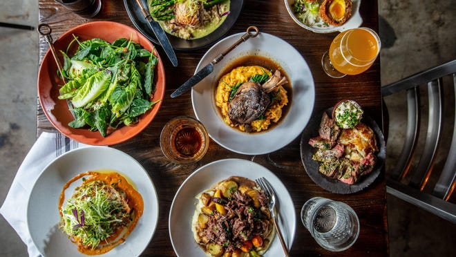 Comfort feast: Chef David Schroeder's Brick and Barrel pub in Lake Park has a focus on updated classics and pub-grub favorites.