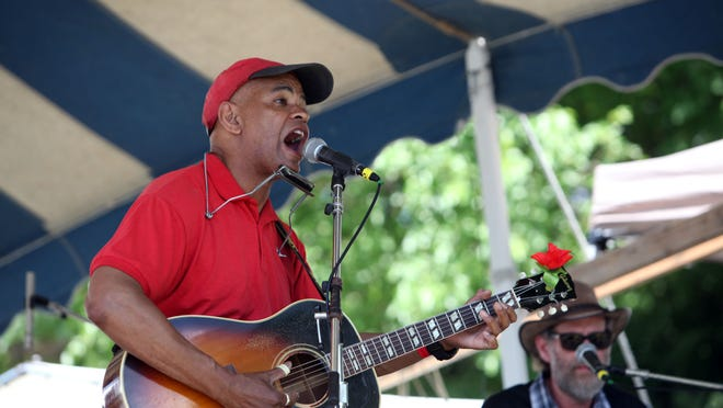 The Guy Davis Band will be back to perform at this year's Clearwater Great Hudson River Revival.