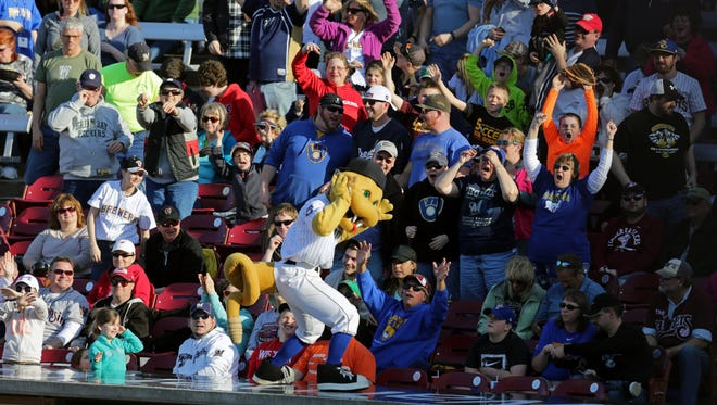 Fang is back in action for game days at Fox Cities Stadium beginning Saturday.