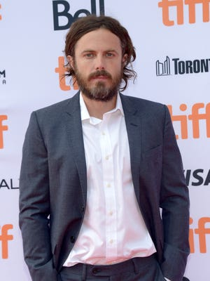 "Casey Affleck at the Toronto Film Festival debut of ""'Manchester by the Sea.'"