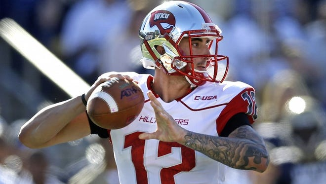 Western Kentucky quarterback Brandon Doughty is considered the best player in Conference USA. Doughty threw for an FBS season-best 441 yards.