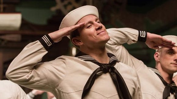 "Channing Tatum plays Burt Gurney in ""Hail, Caesar!"""